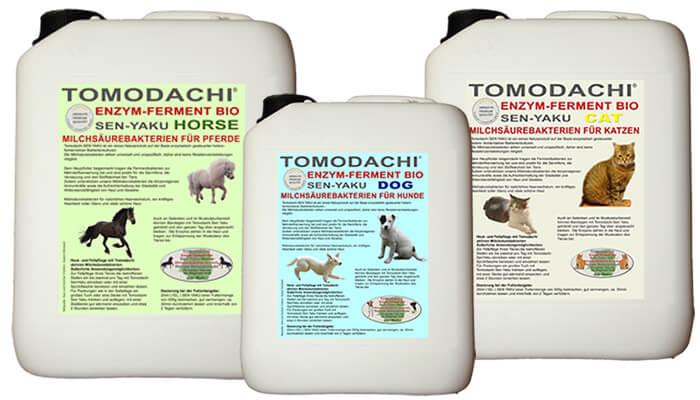 Milchsäurebakterien für Pferde, Hunde und Katzen Tomodachi Fermentbakterien für Immunsystem, Stoffwechsel, Verdauung, Haut und Fell bei unseren Haustieren