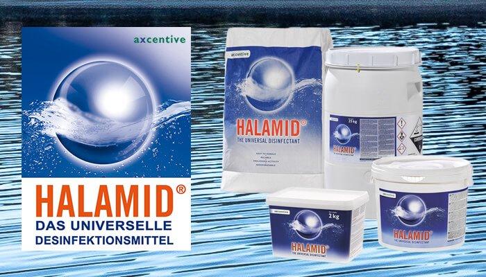 Halamid ist das einzige Desinfektionsmittel, das zuverlässig gegen Giardien wirkt - vergessen Sie Sagrotan - kaufen Sie Halamid günstig im Tomodachi Haustiershop