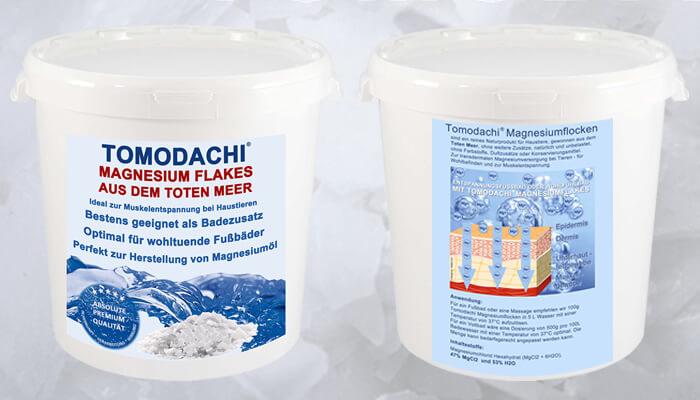 Magnesiumchlorid für Mensch und Tier für eine transdermale Magnesiumtherapie