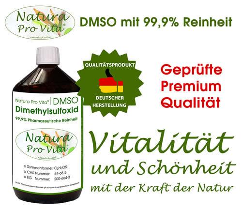 Natura Pro Vita DMSO kann als Transportsubstanz für Arzneimittel dienen, die auf der Haut angewendet werden.