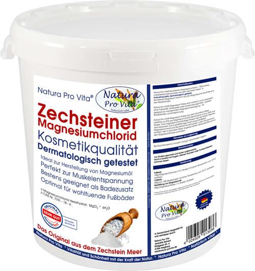 Haustiermassage und Wellness - Natura Pro Vita Magnesiumflakes aus dem Zechstein Meer sind ideal als Badezusatz bei Verspannungen der Muskulatur und zur Pflege von Haut und Fell